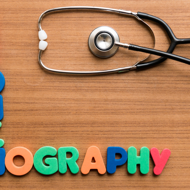 """""""Bronchography"""" stock image"""