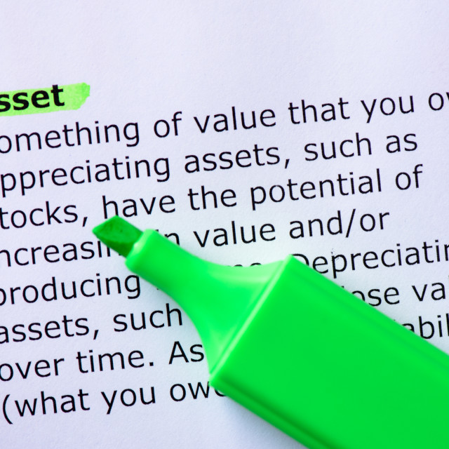"""Asset"" stock image"