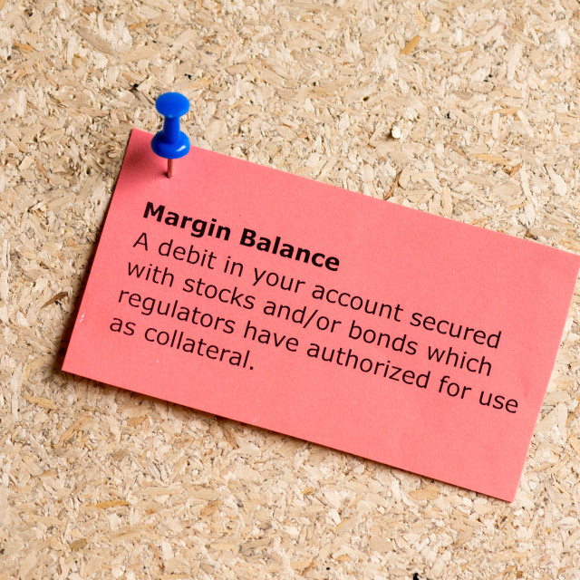 """margin balance"" stock image"