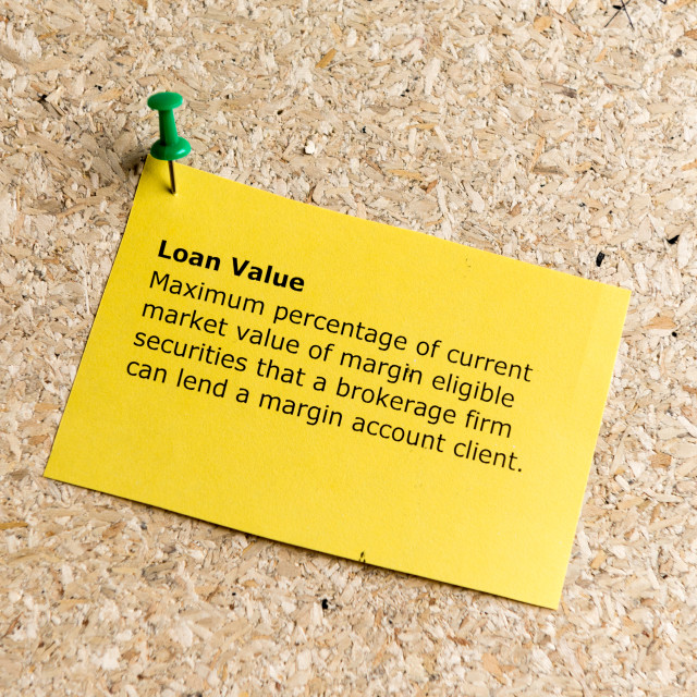 """loan value"" stock image"