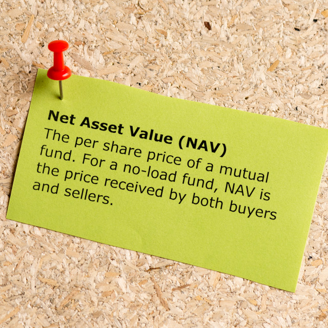 """net asset value"" stock image"