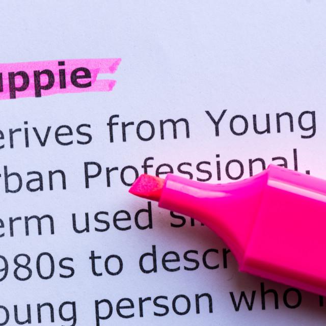"""yuppie"" stock image"