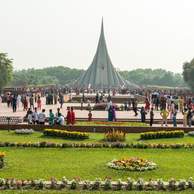 """National Martyrs' Memorial"" stock image"