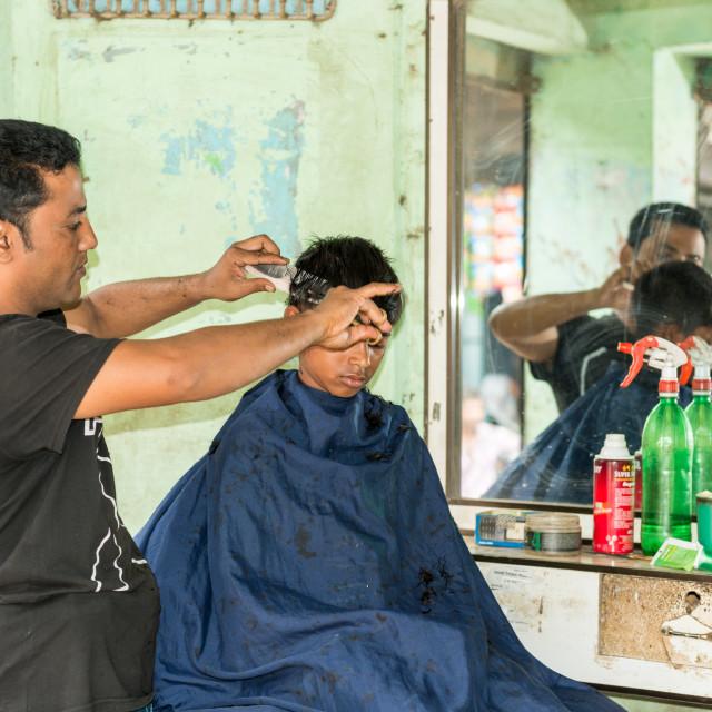 """barber's shop"" stock image"