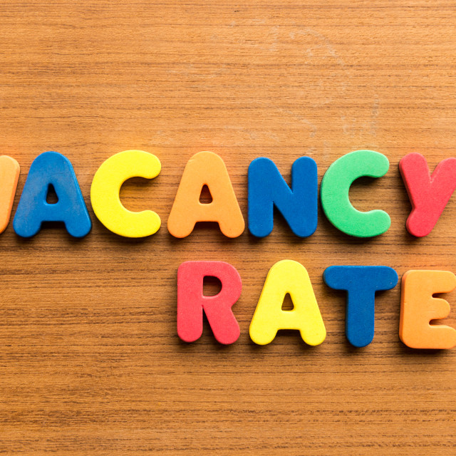 """vacancy rate"" stock image"