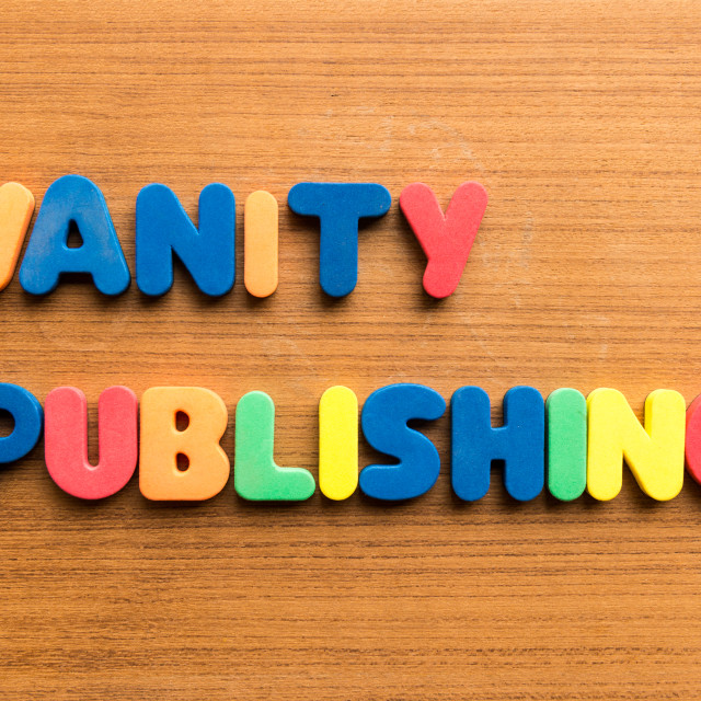"""vanity publishing"" stock image"
