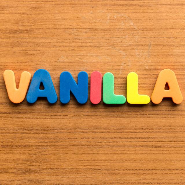 """vanilla"" stock image"