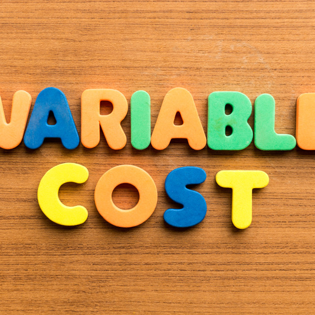"""variable cost"" stock image"