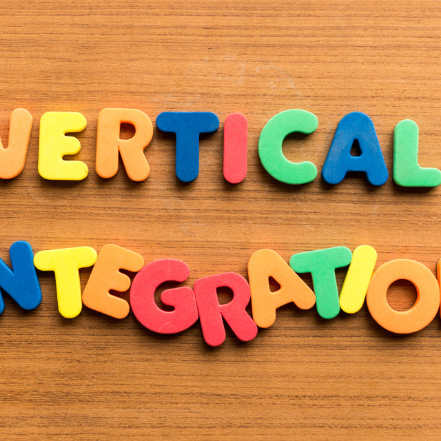 """vertical integration"" stock image"