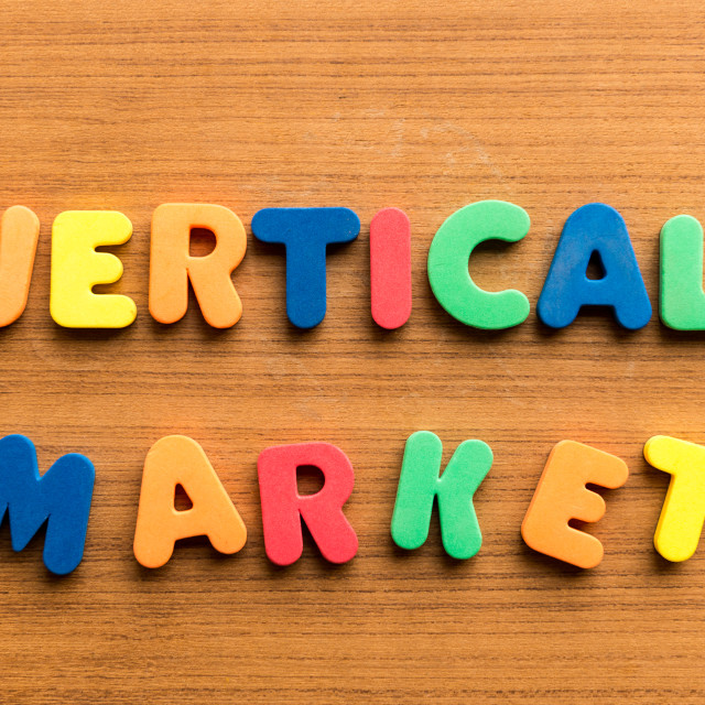 """vertical market"" stock image"