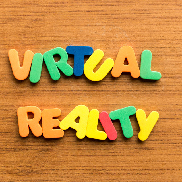 """virtual reality"" stock image"