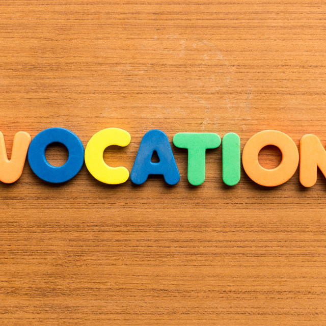 """vocation"" stock image"