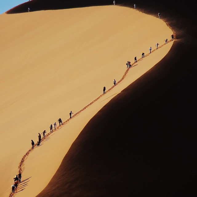 """""""Dune ascent"""" stock image"""
