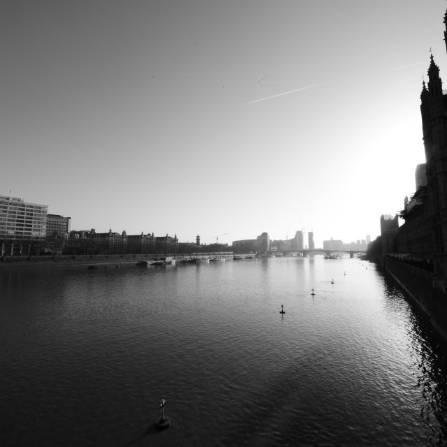 """Westminster Sun"" stock image"