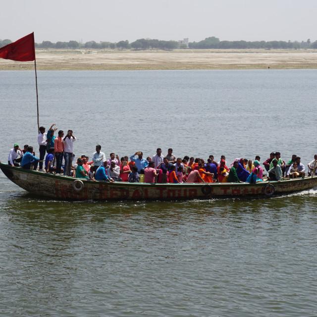 """""""Ganga River"""" stock image"""