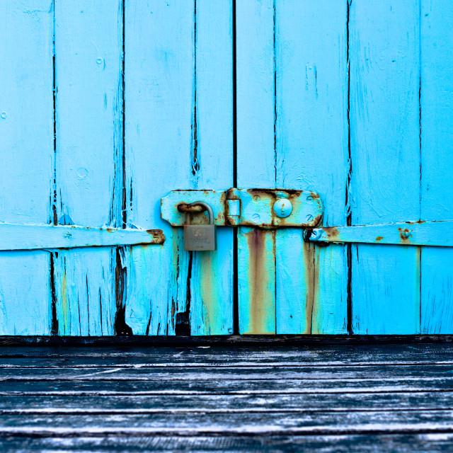 """""""Rusty Turquoise"""" stock image"""