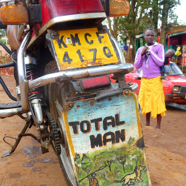 """Total Man"" stock image"