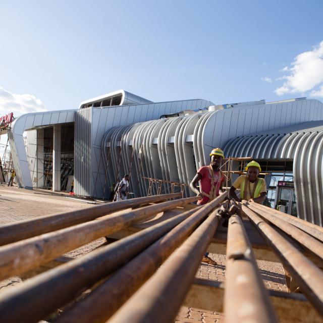 """""""Emali station---#CelebrateAfrica"""" stock image"""