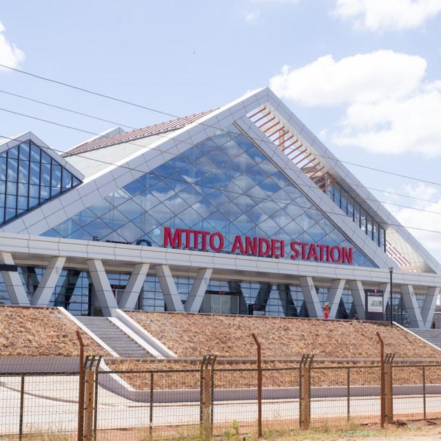 """""""Station #CelebrateAfrica"""" stock image"""