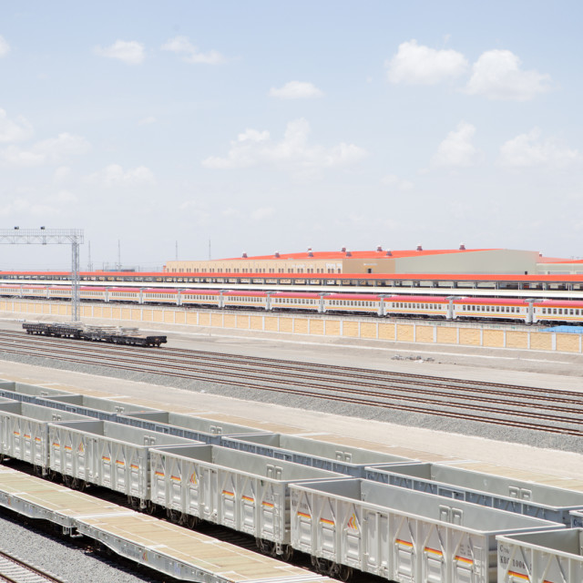 """Locomotive-#CelebrateAfrica"" stock image"