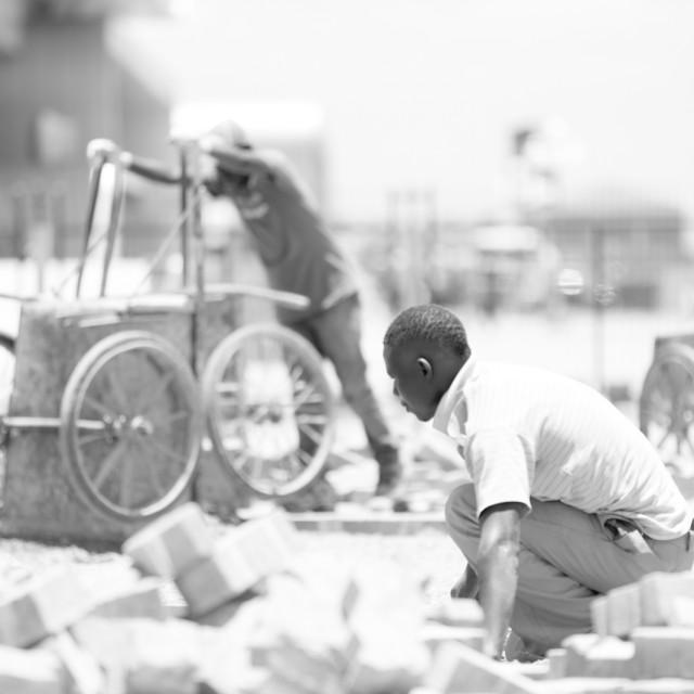 """Work#CelebrateAfrica"" stock image"
