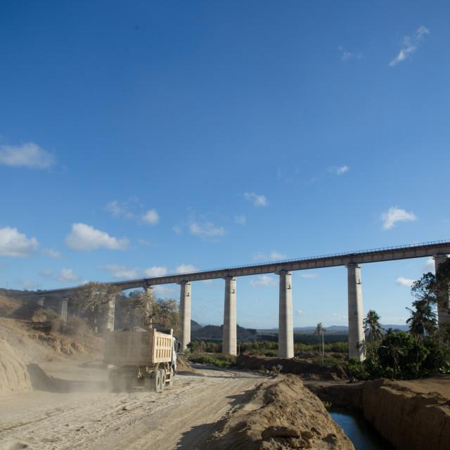 """Bridge-#CelebrateAfrica"" stock image"