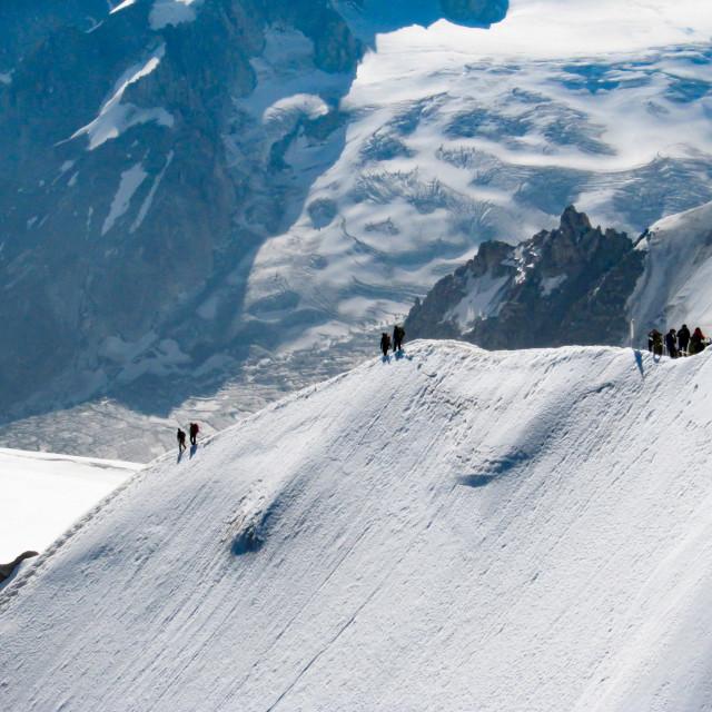 """Snow Trekking 6"" stock image"