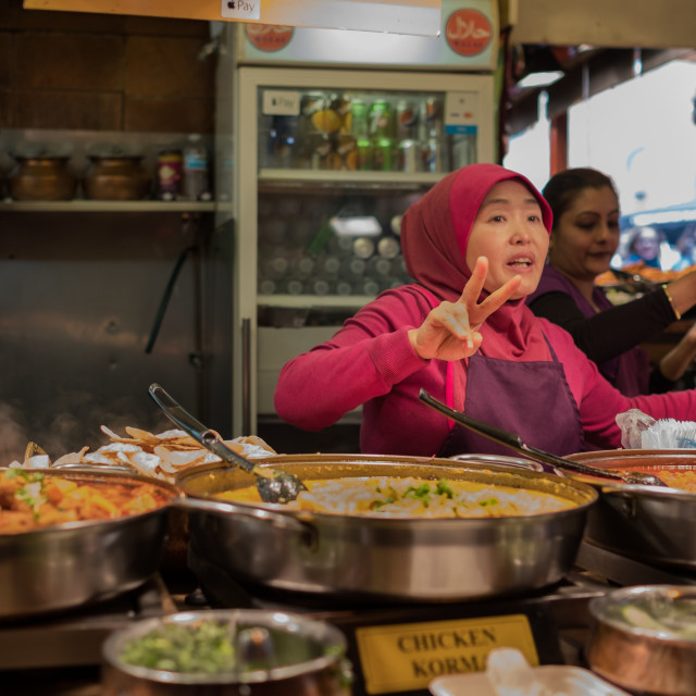 """Street Food"" stock image"