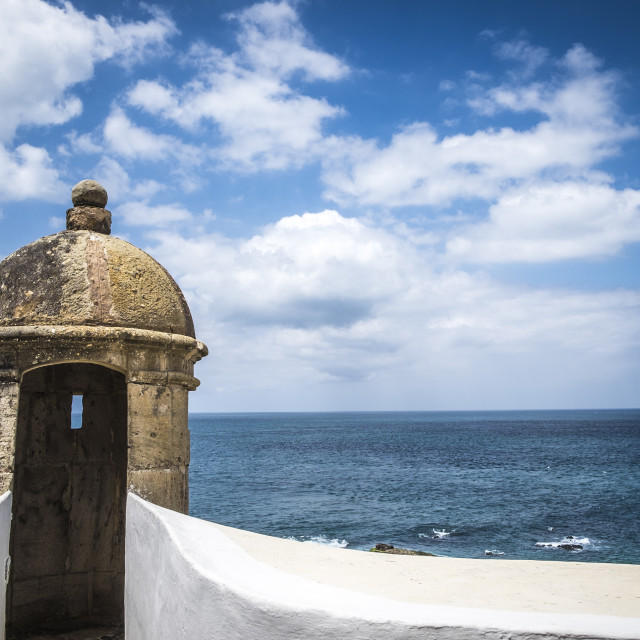 """Farol da Barra is now the Nautical Museum of Bahia"" stock image"