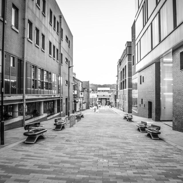 """""""Empty Streets"""" stock image"""