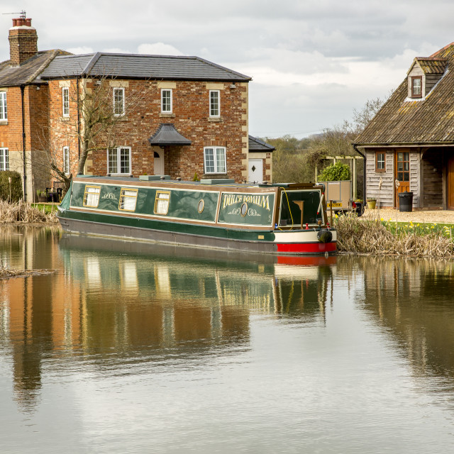 """Boat house"" stock image"