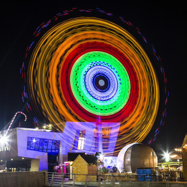 """Fairground Wheel"" stock image"