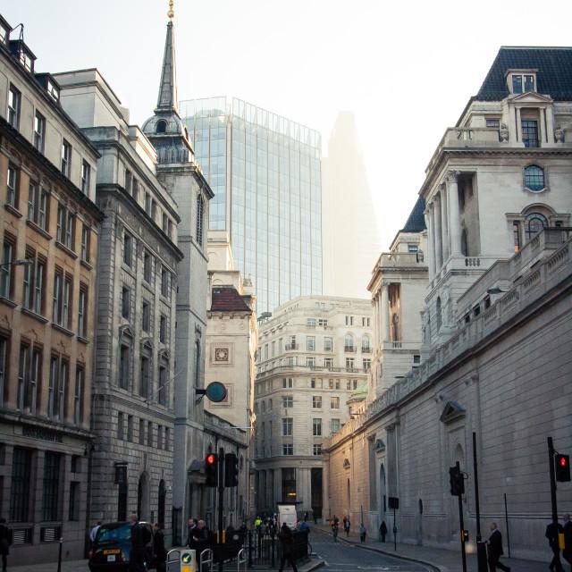 """London rising"" stock image"