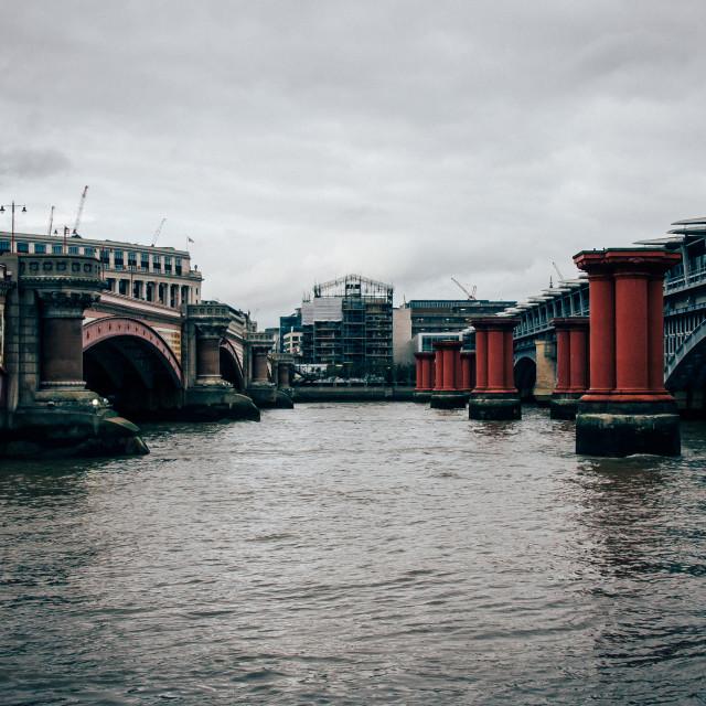 """""""Two bridges"""" stock image"""