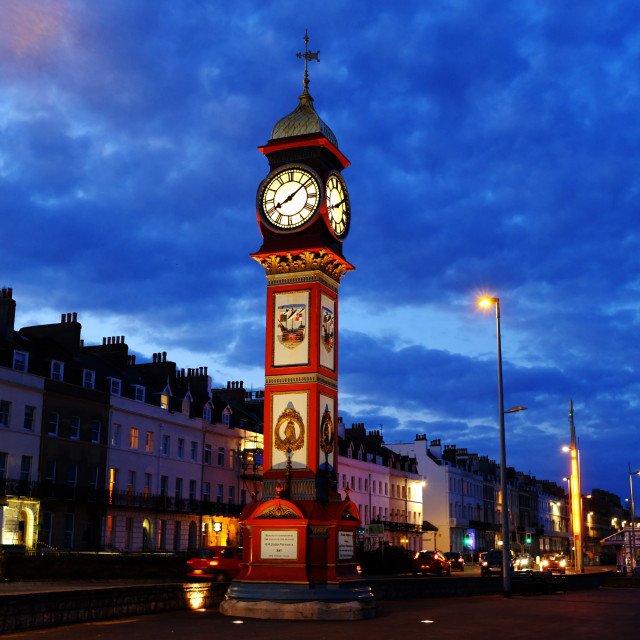"""The Jubilee Clock"" stock image"