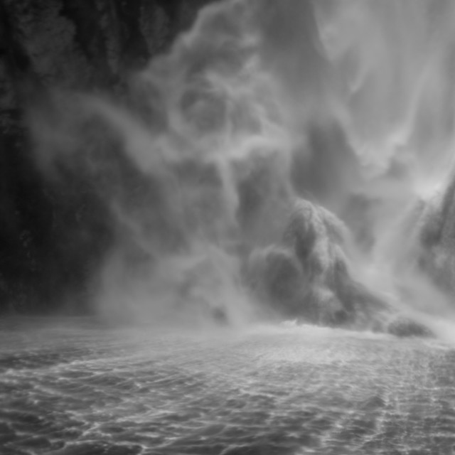 """""""Milford Sound State of Mind"""" stock image"""