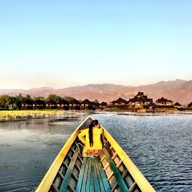 """Inle Lake, Myanmar"" stock image"