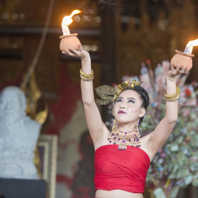 """THAILAND CHIANG RAI BAANDAM TRADITION"" stock image"