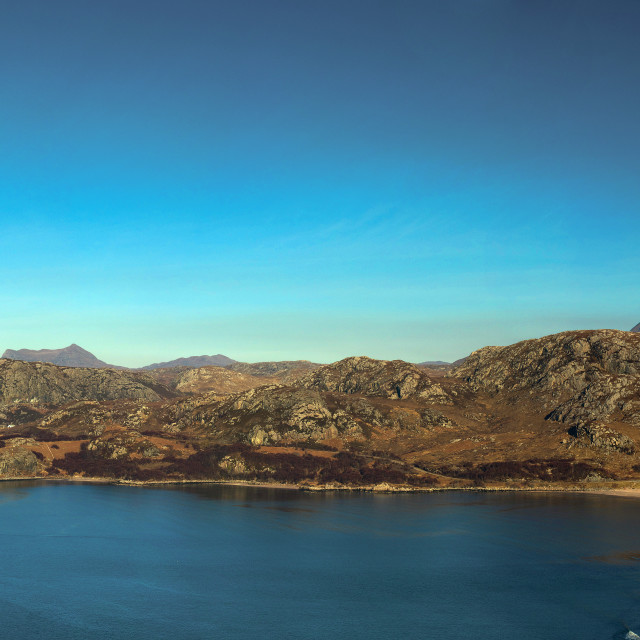 """Gruinard Bay"" stock image"