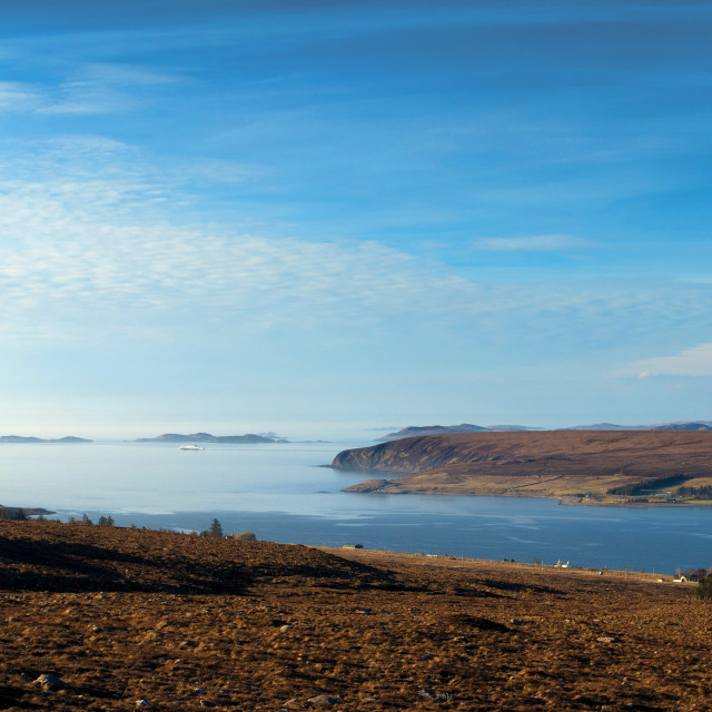 """Little Loch Broom"" stock image"