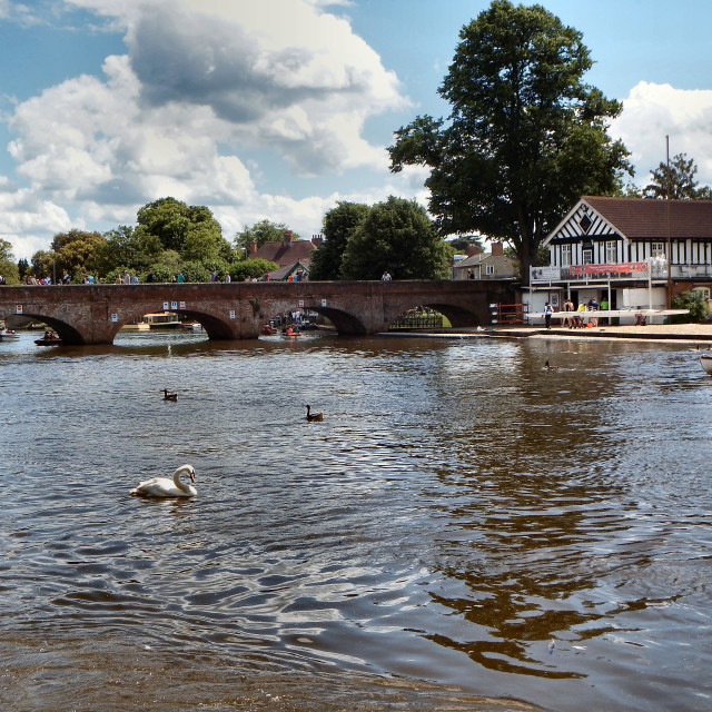 """Stratford Upon Avon"" stock image"