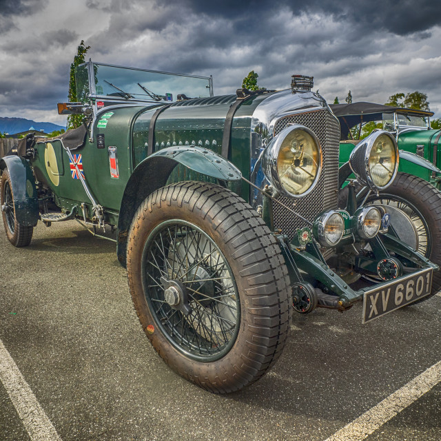 """Vintage mid 1920s Bentley"" stock image"