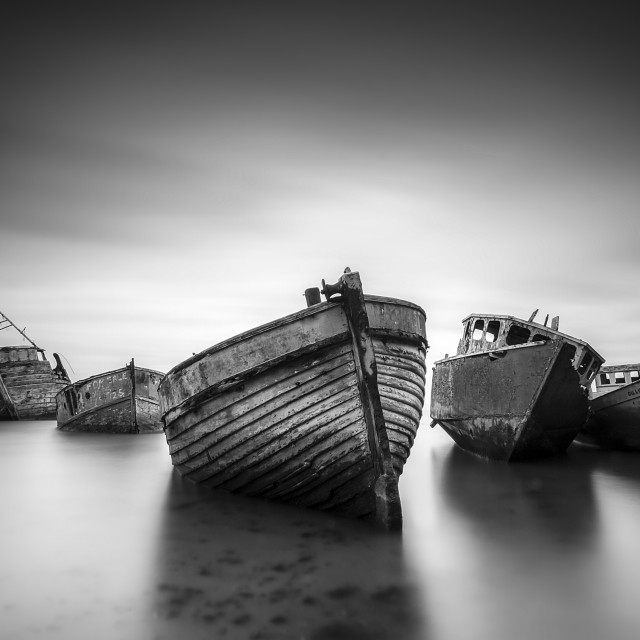 """the ghost fleet"" stock image"
