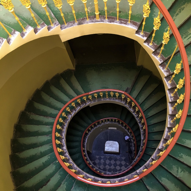 """""""Spiral Staircases"""" stock image"""