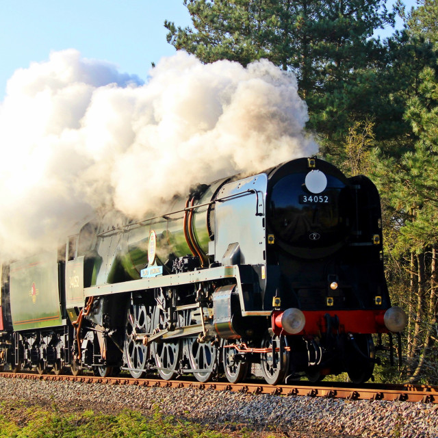 """34052 Lord Dowding"" stock image"