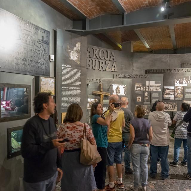 """""""Warsaw Uprising Museum"""" stock image"""