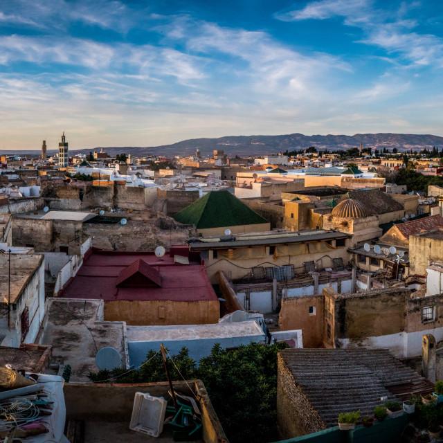"""Old Medina"" stock image"