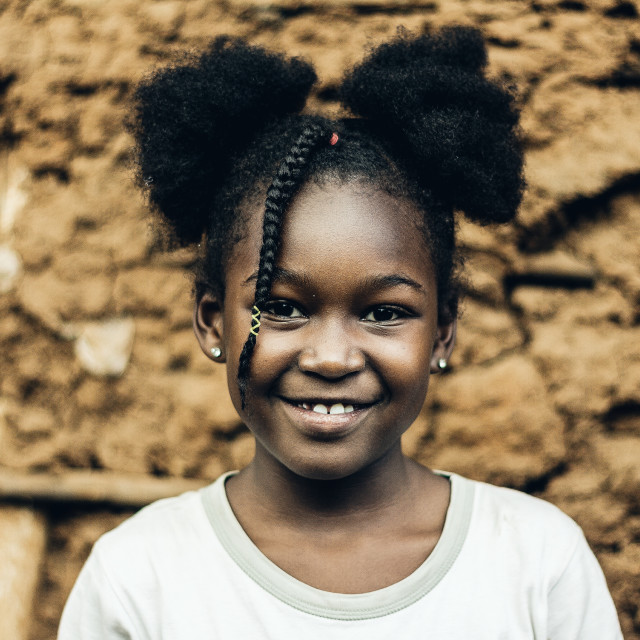 """""""African beauty"""" stock image"""