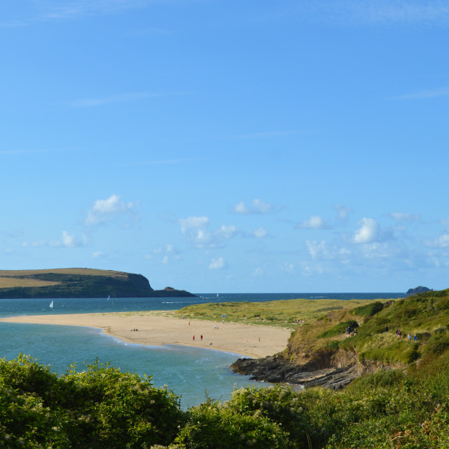 """Daymer Bay, Cornwall"" stock image"