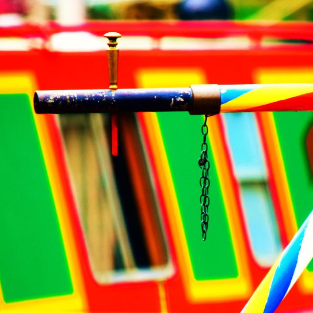 """""""Narrowboat"""" stock image"""
